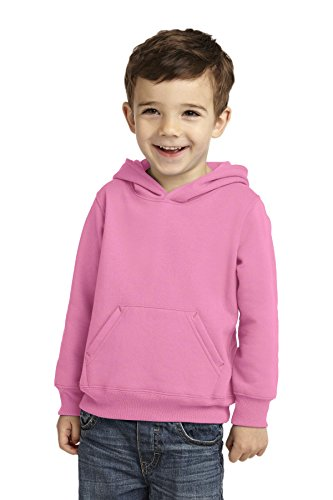 Precious Cargo Unisex-Baby Pullover Hooded Sweatshirt 4T Candy Pink