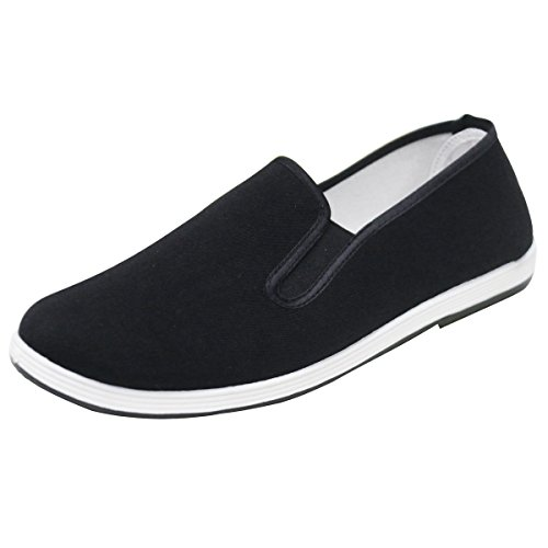 AOFUL-Chinese-Traditional-Cloth-Kung-Fu-Shoes-Black