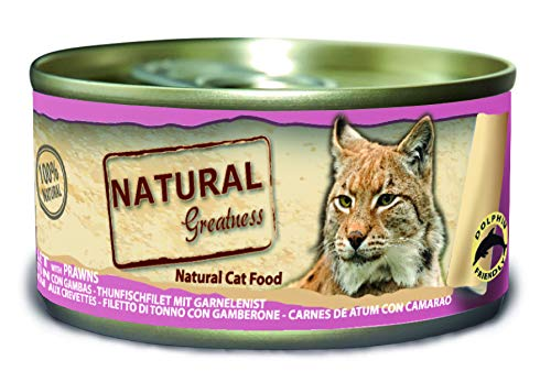 Natural Greatness Greatness Comida Húmeda para Gatos de Filete de ...