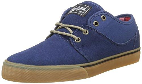 da Mahalo Globe Uomo Sneakers Blu Tartan Gum Navy Eq8d8rtxw