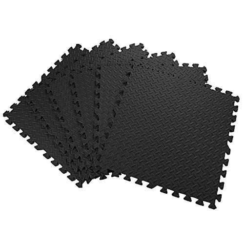 Abaseen Foam Exercise Mat Floor Mats Protective Interlocking Puzzle EVA Floor Tiles Non slip Rubber Cushion For Workout…