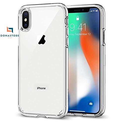 Ultra Clear iPhone xr case 4.7 Inch, Hybrid TPU PC Shock-Absorption Anti-Scratch Bumper Hard Back Cover (HD Crystal Clear) Case Compatible for Apple iPhone xr Protective Bumper Covers Basic case