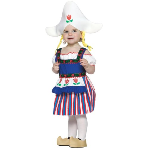 L'il Dutch Girl Infant Costume Size 12-24 (Dutch Boy And Girl Costumes)