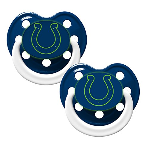 Indianapolis Colts 2 Pack Baby Pacifier