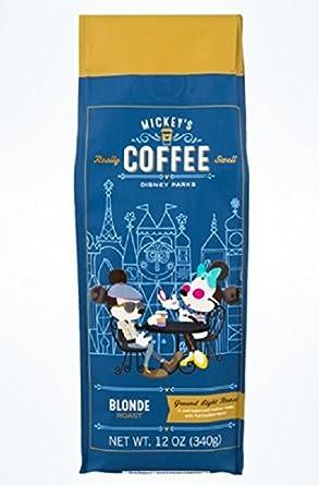 Amazon Com Disney Parks Mickey S Really Swell 12 Ounces Ground Coffee Blonde Roast Grocery Gourmet Food