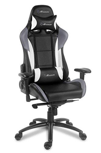 Arozzi Verona Pro Series Racing Style Swivel Gaming Chair, S