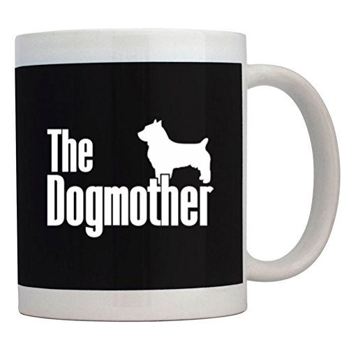 Fuuny Coffee Mugs The dogmother Australian Terrier Mug