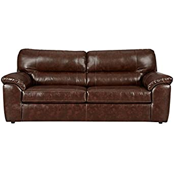 Amazing Amazon Com Flash Furniture Cheyenne Leather Sofa 4900 Pabps2019 Chair Design Images Pabps2019Com