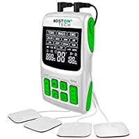 Boston Tech WE112 - Boston Tech - We-112 - Electroestimulador Digital Profesional 3 En 1, Tens, Ems, Masaje. Alivio Al Dolor Y…