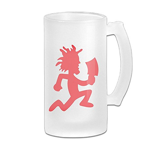 Acosoy Red Hatchetman Logo Scrub Beer Mugs/Beer Stein/Beer Tankard/Beer Glasses ()