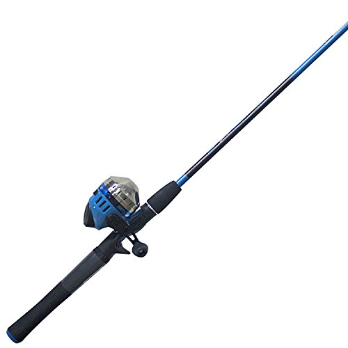 Zebco Splash Spincast Combo, 6', Blue (Best Freshwater Fishing Rods 2019)