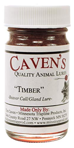Cavens Timber Beaver Call Lure 4 oz. ()