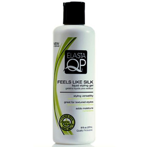 Glaze Elasta Qp - Elasta QP Feels Like Silk Liquid Styling Gel for Unisex, 12 Ounce