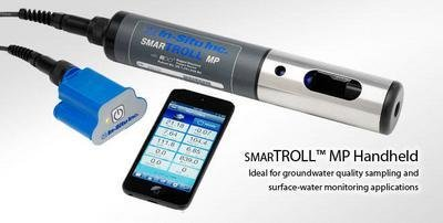 SmarTROLL Multiparameter Bundle with 100' Cable - Multiparameter Water Quality Meters, smarTROLL, - Water Quality Meter Multiparameter
