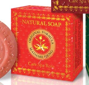 Amazon.com : Natural balance soap MADAME HENG SPA ROSE BAR-Superior cleanse&pH skin balance 150g : Facial Care Products : Beauty