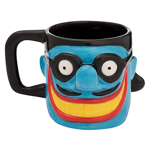 The Beatles 2018 Vandor Yellow Submarine Blue Meanie Sculpted Mug #594/1000
