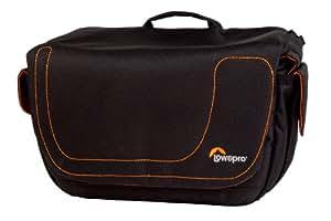Lowepro Impulse 130, bolsa para cámara réflex o video cámara, Negro / Naranja