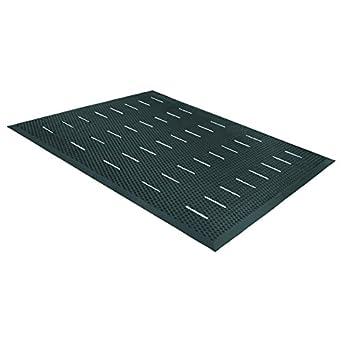 Guardian Free Flow Anti Fatigue Floor Mat, Rubber, 3u0027x4u0027,