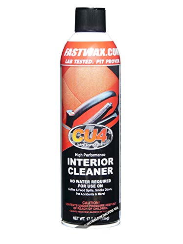 Fast Wax CU4 High Performance Interior Carpet and Upholstery Cleaner