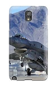 Excellent Design F 16c Fighting Falcon Takeoff Phone Case For Galaxy Note 3 Premium Tpu Case