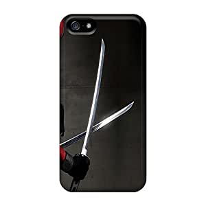 Wilsongoods66 Cases Covers For Iphone 5/5s - Retailer Packaging Deadpool Protective Cases