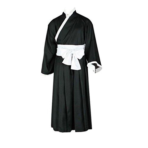 Bleach Cosplay Costume - Ichigo Kurosaki Kimono Black (Bleach Kurosaki Cosplay Costume)