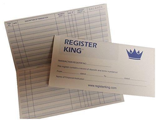 10 Checkbook Registers 2017-2018-2019 Calendars by Register King