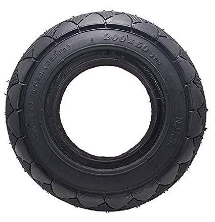 TOPEMAI - Neumáticos de 200 x 50 neumáticos de espuma para ...