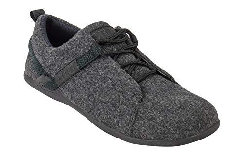 Xero Shoes Pacifica - Men's Minimalist Wool Shoe - Barefoot Inspired, Zero Drop Sole - Charcoal