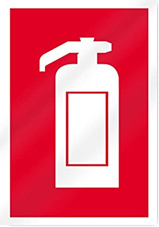 Extinguisher Symbol Fire Sign 10 Wide X 14 Tall Amazon