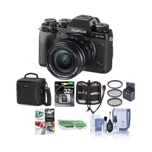 Fujifilm X-T2 Mirrorless Digital Camera with 18-55mm Lens -