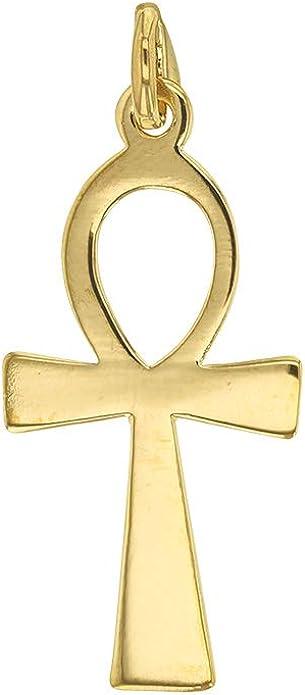 Petite Croix plaqu/é Or orn/é doxyde de Zirconium 3260166 Jouailla