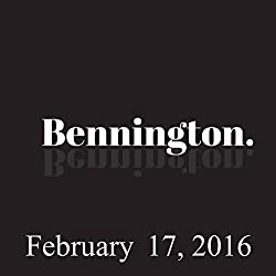Bennington, Dave Hill, February 17, 2016