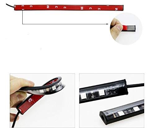 Multi Color Car LED Light Strip Decorative Neon Lamp Kit