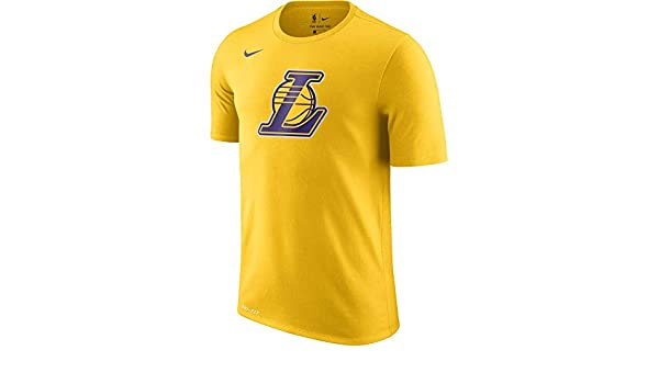Nike NBA Los Angeles Lakers Lebron James Lonzo Ball Ingram Kuzma Rondo 2017 2018 Logo tee, Camiseta de Hombre: Amazon.es: Ropa y accesorios
