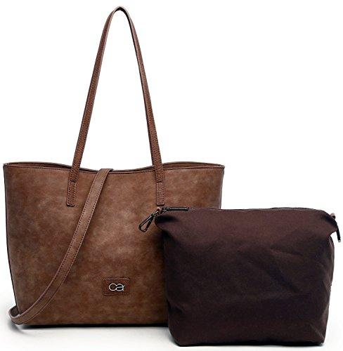 Collezione Mujer 34x30x11cm De Sintético Alessandro Ta21307 Material Shopper fxqwrn1fRp