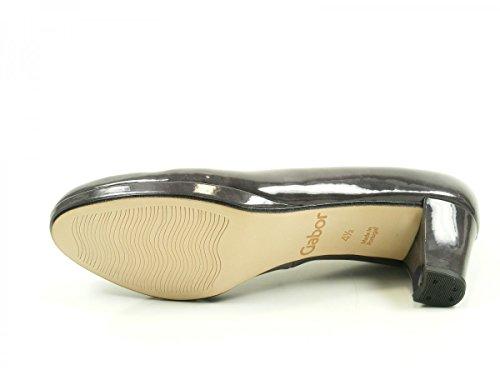 Gabor 71-260 Zapatos de tacón de material sintético mujer Grau