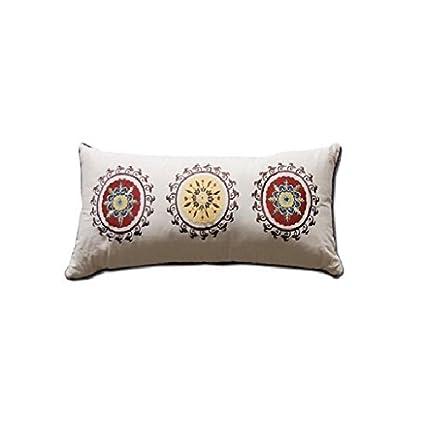 Amazon Greenland Home Andorra Decorative Neck Roll Pillow By Cool Decorative Neck Roll Pillows