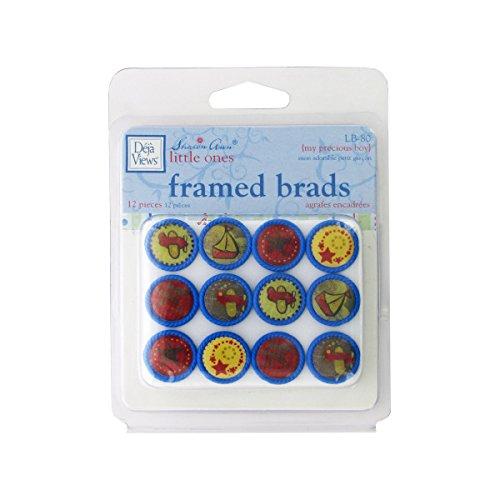 My Precious Boy Framed Brads-Package Quantity,144 by bulk buys