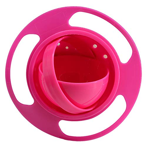 BUYITNOW Baby Gyro Bowl 360 Dgree Rotation Gyroscope Tableware Spill-proof Bowl for Kids Toddlers (Gyroscopic Bowl)
