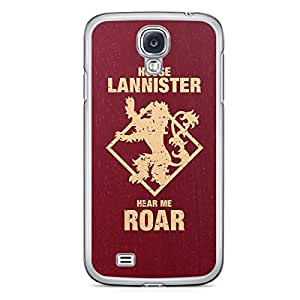 Game of thrones Samsung Galaxy S4 Transparent Edge Case - House Lannister