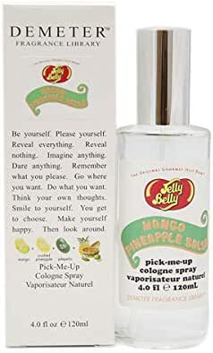 Demeter Jelly Belly Mango Pineapple Salsa Cologne Spray for Women, 4.0 Ounce