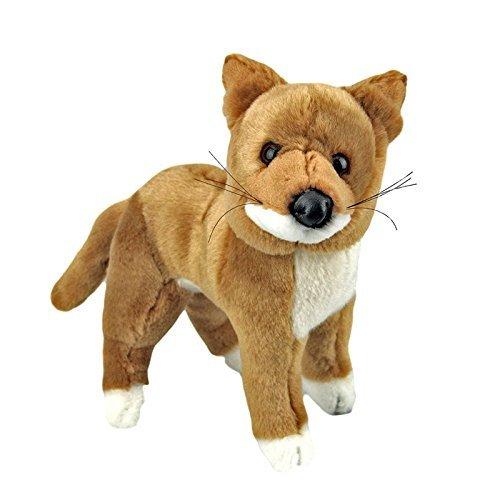 """Korimco Australian Dingo Stuffed Animal Plush Toy Small 9""""/2"""