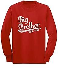 TeeStars - Gift for Big Brother 2017 Toddler/Kids Long sleeve T-Shirt