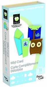 Cricut Cartridge, Wild Card
