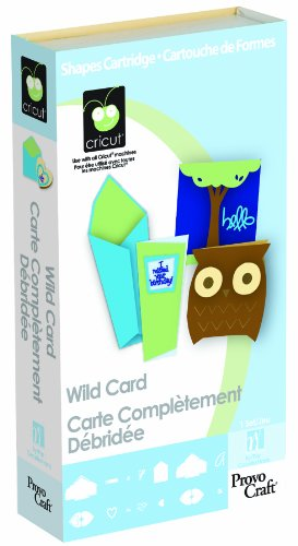 Cricut 29-0591 Cartridge, Wild Card by Cricut