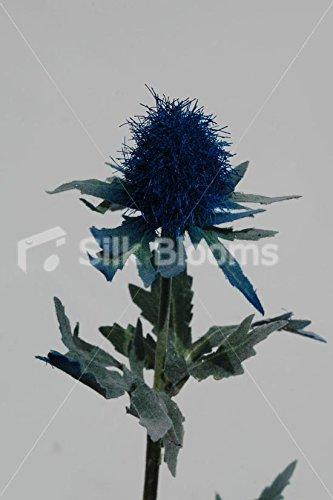 Artificial Dark Blue Scottish Sea Holly Thistles, Blue Thistles Silk Blooms Ltd 6928