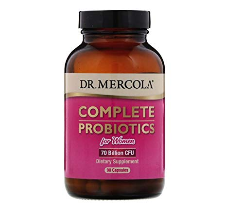 Dr. Mercola Complete Probiotics for Women - 90 caps - Customized Probiotic Blend for Women