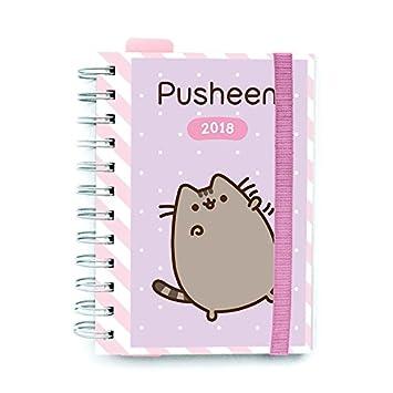 Grupo Erik Editores - Agenda 2018 Día Página Pusheen The Cat