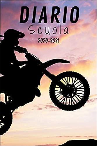 Diario Scuola Moto cross 2020 2021: Diario Scolastico Motocross A5